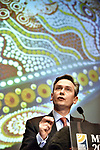 Rio Tinto CEO Jean-Sebastien Jacques speaks during the Minerals Council of Australia conference at Parliament House in Canberra, Australia, on Wednesday, Sept 6, 2017.  Photographer: Mark Graham/Bloomberg