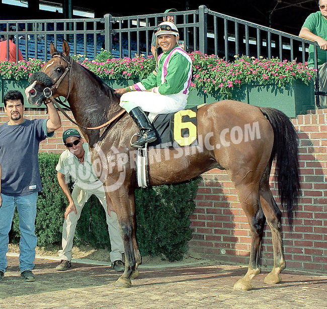 Don Condare inductee in The Arabian Racing Hall of Fame <br /> The Donald in the circle on 8/19/00