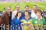 VOCAL: Getting behind the CBS The Green School were Mike Reidy, John Higgins, Barbara Higgins, Tim McMahon, Carmel Quilter, David Keane and Kathleen OShea pictured in Croke Park on Sunday..