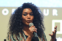 """WEST HOLLYWOOD - APRIL 22: Actress Angela Bassett attends an FYC screening and Q&A for National Geographic's """"The Flood"""" at SilverScreen Theater on April 22, 2019 in West Hollywood, California. (Photo by Vince Bucci/National Geographic/PictureGroup)"""