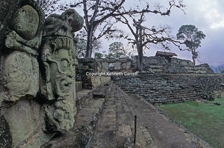 Honduras; Maya; Copan, Royal Crypts,Jaguar God