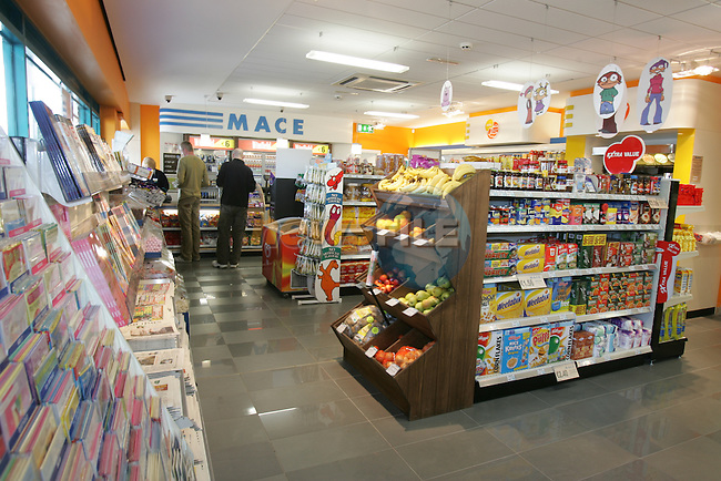 Mace Shop at the Maxol Garage on the Ballymakenny Road in Drogheda. Manager Mark Reynolds.Photo: Fran Caffrey/ Newsfile.
