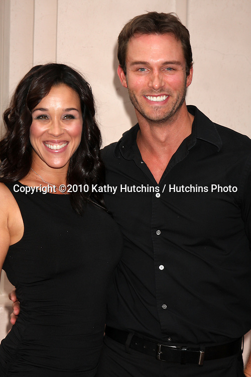 "LOS ANGELES - SEP 28:  Lisa Kouchak, Eric Martsolf arrives at  ""Celebrating 45 Years of Days of Our Lives"" at Academy of Television Arts & Sciences on September 28, 2010 in No. Hollywood, CA"