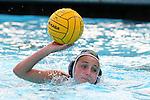 Manhattan Beach, CA 02/16/11 - Sara Crist (Mira Costa #11) in action during the 2011 first round CIF girls waterpolo playoffs between Edison and Mira Costa.