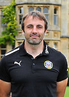 Academy Director Danny Grewcock poses for a portrait at the club Photocall. Bath Rugby Media Day on August 21, 2012 at Farleigh House in Bath, England. Photo by: Patrick Khachfe/Onside Images