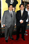 "HOLLYWOOD, CA. - April 06: Matt Yuen and John Yuen arrive at the Los Angeles premiere of ""Observe and Report"" at Grauman's Chinese Theater on April 6, 2009 in Hollywood, California."