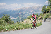 Peter Stetina (USA/Trek-Segafredo) during his restday 3 training ride <br /> <br /> 100th Giro d'Italia 2017