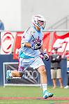Costa Mesa, CA 06/08/13 - Matt Callahan (Team STX #13) in action during the inaugural game of the LXMPRO Tour in Orange County.  The Team STX defeated Team Maverik 14-13 at Orange Coast College's Bard Stadium.