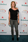 Frederique Van Der Wal arrives at the US Open Player Party at The Empire Hotel, August 27, 2010.