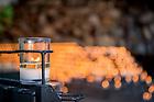 April 23, 2017; Grotto candles (Photo by Matt Cashore/University of Notre Dame)