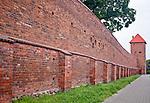 Chełmno, 2011-07-10. Mury obronne i Baszta Prochowa.