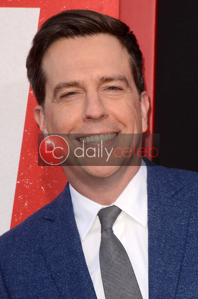 """Ed Helms<br /> at the """"Tag"""" World Premiere, Village Theater, Westwood, CA 06-07-17<br /> David Edwards/DailyCeleb.com 818-249-4998"""