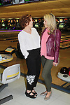 Sonia Satra poses with Liz Keifer - host at 13th Annual Daytime Stars and Strikes Bowling for Autism on April 23, 2016 at Bowler City Lanes in Hackensack, NJ. (Photo by Sue Coflin/Max Photos)