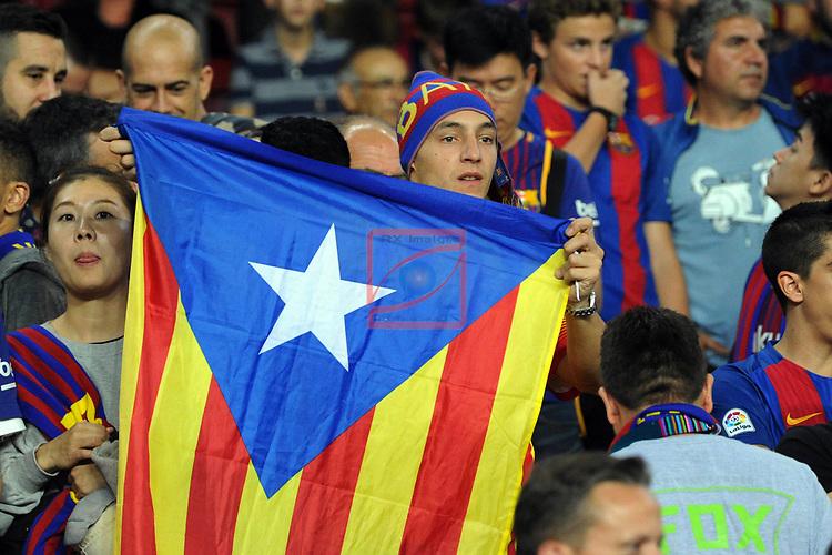 League Santander 2017/2018 - Game: 9.<br /> FC Barcelona vs Malaga CF: 2-0.