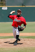 Joe Berger - 2009 San Diego State Aztecs playing against the Texas Christian Horned Frogs at Tony Gwynn Stadium, San Diego, CA - 04/25/2009 .Photo by:  Bill Mitchell/Four Seam Images