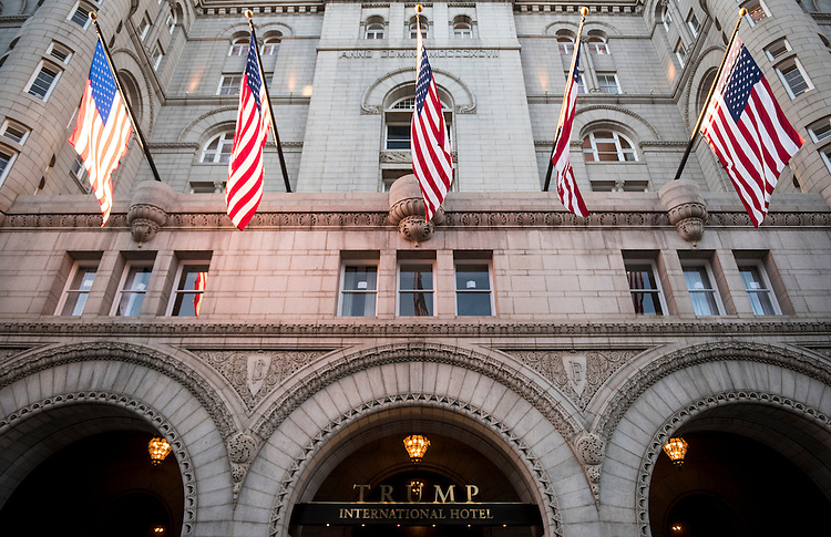UNITED STATES - SEPTEMBER 12: The Trump International Hotel on Pennsylvania Avenue in Washington is scheduled to open to the public on Monday, Sept. 12, 2016. (Photo By Bill Clark/CQ Roll Call)