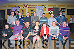 GOLF: Winners and runners up in the Slaibh a'Mhardra NS Golf Classic on Saturday who were presented with their prizes from Breda O'Dwyer (principal Sliabh a'Mhadra NS), in Mchales Bar and Restaurant, Causeway, Front l-r: Jason Power (sponsor), Jim McEllistrim (organiser), John O'Connell (ist), Catherine McHale(sponsor)  Breda Dwyer, Mark Condon (ist) and John White (organiser). Back l-r: John Leen, Paul Donegan (organiser), Ger Lynch, James O'Sullivan, Donal Glavin, Michael Burke and David Leen.