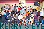 21ST BIRTHDAY: Neil Hobbert, Leith Cross, Tralee (seated centre) enjoying a great time celebrating his 21st birthday with a very large group of family and friends at the Na Gaeil clubhouse, Tralee on Friday.