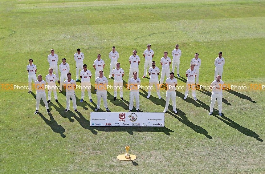 Essex squad pose for team photo during the Essex CCC Press Day at The Cloudfm County Ground on 30th July 2020