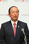 Toshiro Muto, March 26, 2014 : a press conference of Tokyo Organizing Committee of the Olympic and Paralympic Games <br /> in Tokyo, Japan. (Photo by Yohei Osada/AFLO SPORT)