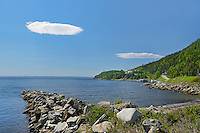 Clouds in White Bay (Atlantic Ocean)<br /> Seal Cove<br /> Newfoundland &amp; Labrador<br /> Canada