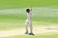 29th December 2019; Melbourne Cricket Ground, Melbourne, Victoria, Australia; International Test Cricket, Australia versus New Zealand, Test 2, Day 4; Tom Blundell of New Zealand celebrates his half century - Editorial Use