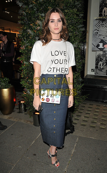 Sai Bennett at the Oliver Peoples new store launch party, Oliver Peoples, Sloane Street, London, England, UK, on Wednesday 14 September 2016. <br /> CAP/CAN<br /> &copy;CAN/Capital Pictures