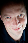 Udacity co-founder Professor Sebastian Thrun poses for a portrait in their Palo Alto, Calif. office, February 24, 2012.