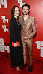 Olivia Wilde and Tom Sturridge attends the Broadway Opening Night Party for George Orwell's '1984' at The Lighthouse Pier 61 on June 22, 2017 in New York City.