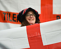 20170723 - BREDA , NETHERLANDS : illustration of English fan pictured during the female soccer game between England and Spain  , the second game in group D at the Women's Euro 2017 , European Championship in The Netherlands 2017 , Sunday 23 th June 2017 at Stadion Rat Verlegh in Breda , The Netherlands PHOTO SPORTPIX.BE | DIRK VUYLSTEKE