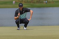 Matt Fitzpatrick (ENG) lines up his putt on 6 during round 2 of the Arnold Palmer Invitational at Bay Hill Golf Club, Bay Hill, Florida. 3/8/2019.<br /> Picture: Golffile | Ken Murray<br /> <br /> <br /> All photo usage must carry mandatory copyright credit (&copy; Golffile | Ken Murray)
