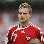 15 June 2006: Christopher Birchall (TRI). England defeated Trinidad and Tobago 2-0 at the Frankenstadion in Nuremberg, Germany in match 19, a Group B first round game, of the 2006 FIFA World Cup.