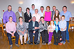 Michael and Kathleen Casey Killorglin celebrated their 50th wedding anniversary with their family and friends in the Killorglin Golf clubhouse on Saturday night front row l-r: Mick Casey, Helen Dendy, Michael and Kathleen Casey, Sarah o'Brien, Chris Lucey, Niall O'Brien. Back row: Bill denby, Mike Mangan, Mary Mangan, Gavin Casey, Brenda Hanafin, Noel Lucey, Pauline Casey, Con Lucey, Ciara O'Brien AND  Tim O'Brien