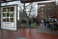 (180224RREI6226) La Esquina where Latinos have gathered for decades at the corner of Mt. Pleasant St. and Kenyon St. NW. to play chekers (damas). Washington DC Feb. 24, 2018 . ©  Rick Reinhard  2018     email   rick@rickreinhard.com