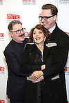 Nathan Lane, Andrea Martin, and Devlin Elliott attend the 2016 Manhattan Theatre Club's Fall Benefit at 583 Park Avenue on November 21, 2016 in New York City.
