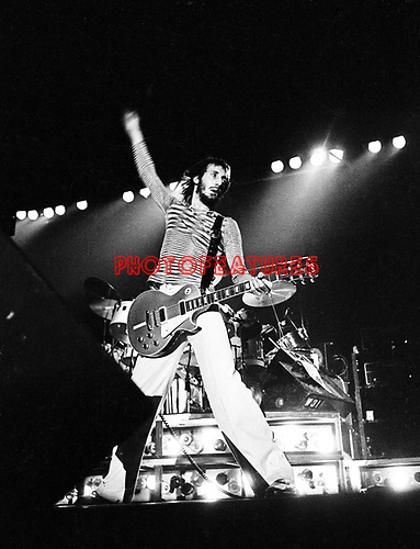 The Who 1975 Pete Townshend<br /> &copy; Chris Walter