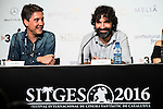 """XXX during the press conference of the presentation of the film """"Proyecto Lazaro"""" at the Festival de Cine Fantastico de Sitges in Barcelona. October 07, Spain. 2016. (ALTERPHOTOS/BorjaB.Hojas)"""