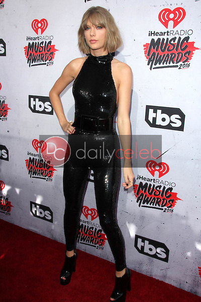 Taylor Swift<br /> at the iHeart Radio Music Awards 2016 Arrivals, The Forum, Inglewood, CA 04-03-16<br /> David Edwards/DailyCeleb.com 818-249-4998