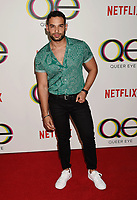 WEST HOLLYWOOD, CA - FEBRUARY 07: Johnny Sibilly attends the premiere of Netflix's 'Queer Eye' Season 1 at Pacific Design Center on February 7, 2018 in West Hollywood, California.<br /> CAP/ROT/TM<br /> &copy;TM/ROT/Capital Pictures