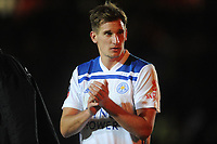 Leicester City's Marc Albrighton looks dejected at the final whistle <br /> <br /> Photographer Ian Cook/CameraSport<br /> <br /> The Emirates FA Cup Third Round - Newport County v Leicester City - Sunday 6th January 2019 - Rodney Parade - Newport<br />  <br /> World Copyright © 2019 CameraSport. All rights reserved. 43 Linden Ave. Countesthorpe. Leicester. England. LE8 5PG - Tel: +44 (0) 116 277 4147 - admin@camerasport.com - www.camerasport.com