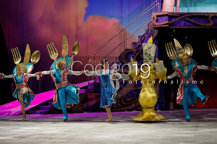 SÃO PAULO, SP 29.05.2019: DISNEY-SP - Coletiva de imprensa e passagem de cena do espetáculo Disney On Ice Em Busca dos Sonhos, que acontecu na manhã desta quarta-feira (29) no Ginásio Ibirapuera, zona sul da capital paulista. O espetáculo que já passou por Porto Alegre e Curitiba, fica em cartaz de 29 de maio a 09 de junho e depois segue para o Rio de Janeiro. (Foto: Ale Frata/Codigo19)