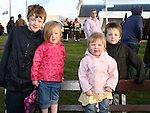 Daniel, Grace and Adam Christie with Caitlin Eiliffe at The Bellewstown Races...Photo NEWSFILE/Jenny Matthews.(Photo credit should read Jenny Matthews/NEWSFILE)....This Picture has been sent you under the condtions enclosed by:.Newsfile Ltd..The Studio,.Millmount Abbey,.Drogheda,.Co Meath..Ireland..Tel: +353(0)41-9871240.Fax: +353(0)41-9871260.GSM: +353(0)86-2500958.email: pictures@newsfile.ie.www.newsfile.ie.FTP: 193.120.102.198.