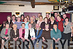 HAPPY BIRTHDAY: Bernadette Leahy, Firies (seated 4th from left), with many of her family and friends who celebrated her 70th birthday in the Greyhound Bar, Tralee, on Monday night.   Copyright Kerry's Eye 2008