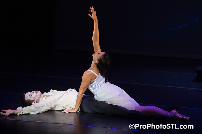Dracula presented by Missouri Ballet Theater in Edison Theater at Washington University in St. Louis, MO on Oct 17, 2014.