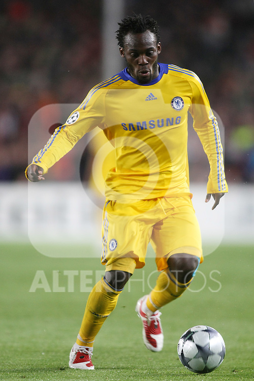 Chelsea's Michael Essien during the UEFA Champions League match.April 28 2009. (ALTERPHOTOS/Acero).