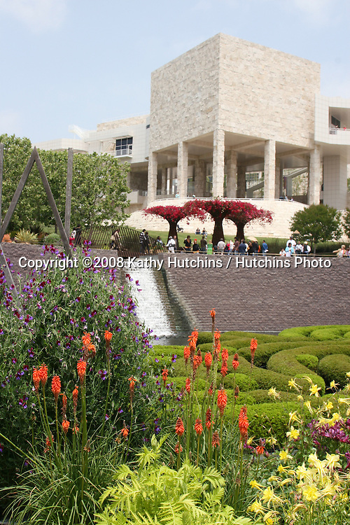 Gardens.The Getty Museum.Los Angeles, CA.May 10, 2008.©2008 Kathy Hutchins / Hutchins Photo .