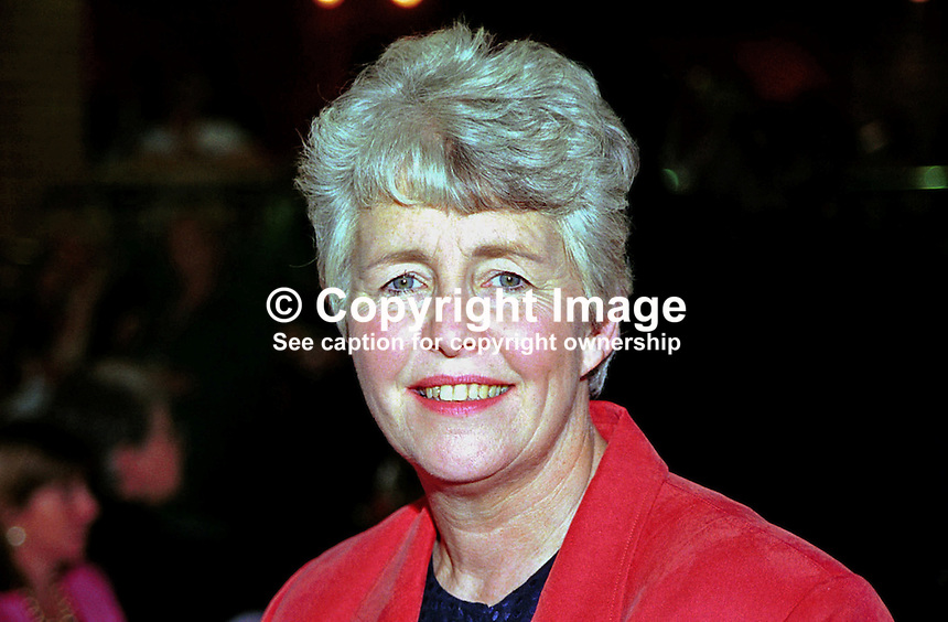 Sylvia Heal, MP, Labour Party, Britain, UK. Ref:199909173. Taken at Labour Party  Annual Conference - Bournemouth, England during September 1999...Copyright Image from Victor Patterson, 54 Dorchester Park, Belfast, UK, BT9 6RJ..Tel: +44 28 9066 1296.Mob: +44 7802 353836.Voicemail +44 20 8816 7153.Skype: victorpattersonbelfast.Email: victorpatterson@mac.com.Email: victorpatterson@ireland.com (back-up)..IMPORTANT: If you wish to use this image or any other of my images please go to www.victorpatterson.com and click on the Terms & Conditions. Then contact me by email or phone with the reference number(s) of the image(s) concerned.