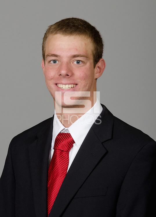 STANFORD, CA - September 27th, 2011: Stanford Swimming athlete portrait.