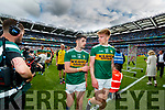 Paul Geaney, Kerry and Tommy Walsh, Kerry  after the GAA Football All-Ireland Senior Championship Final match between Kerry and Dublin at Croke Park in Dublin on Sunday.