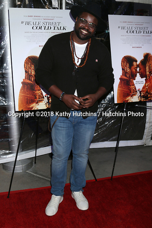 """LOS ANGELES - DEC 4:  Brian Tyree Henry at the """"If Beale Street Could Talk"""" Screening at the ArcLight Hollywood on December 4, 2018 in Los Angeles, CA"""